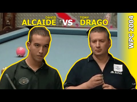 Tony Drago vs David Alcaide - 9-ball WPC 2004 - Speed vs Youth