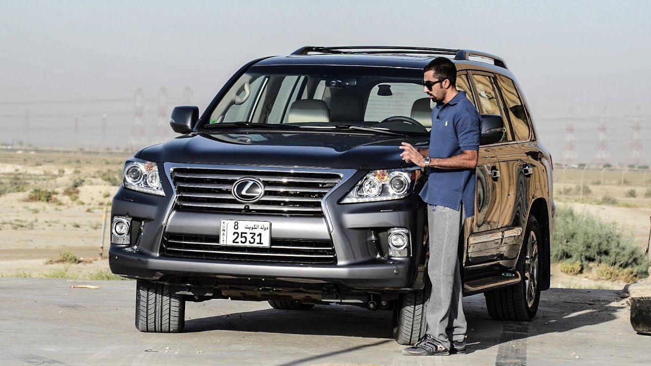 Lexus Lx570 Test Drive تجربة قيادة جيب لكزس 2014 Youtube