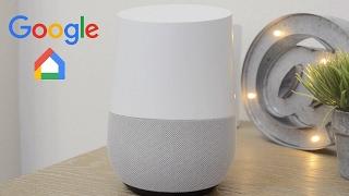 Test du Google Home en français .