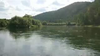 Ход лодки Выдра 430 под suzuki df 25
