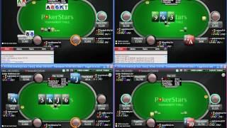 Видео школы PokerStarter: SNG $1.5 SH - Серия подъём по лимитам. II