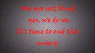 Serj Tankian - Occupied Tears ( lyrics on screen)