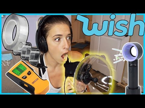 Testing Wish Gadgets!
