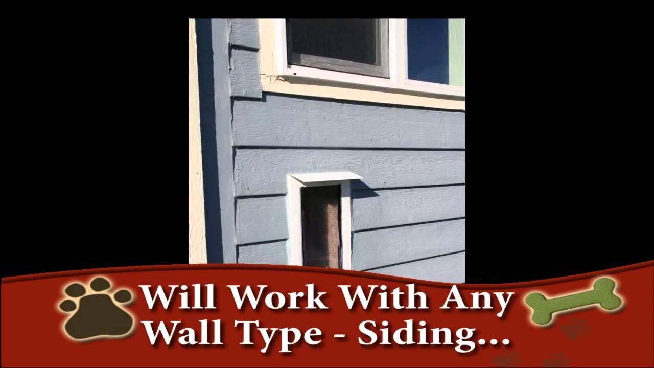 Hale Pet Door Wall Mounted Cat Dog Door