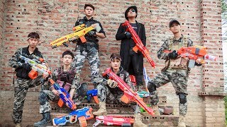 LTT Nerf War : Perfect Couple SEAL X Warriors Nerf Guns Fight Criminal Group Dr Lee