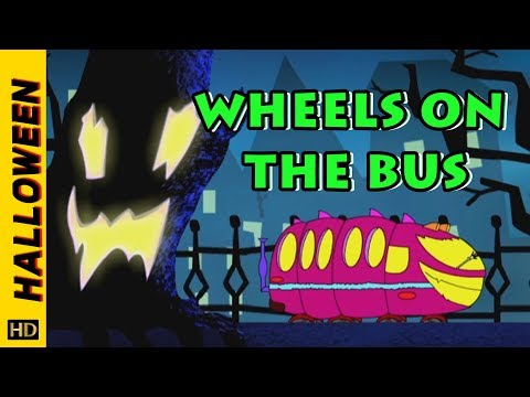 Wheels On The Bus (HD) | Halloween Special | Halloween Songs for Kids | Shemaroo Kids Junior