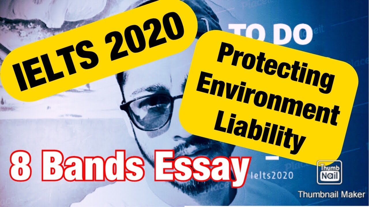 Essay on protecting environment