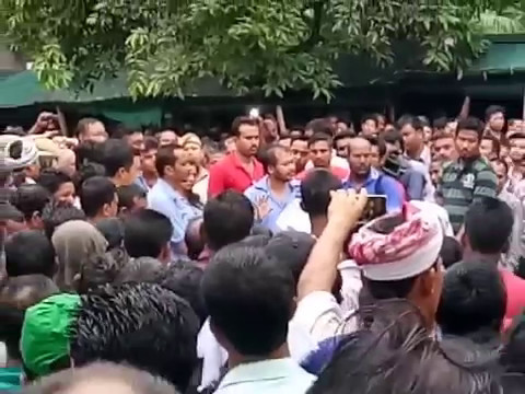AKHIL GOGOI vs POWER GRID CORPORATION OF INDIA LIMITED IN FRONT OF MEGHDOOT BHAWAN