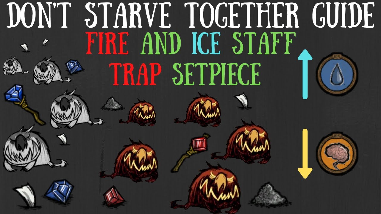 Don't Starve Together Guide: Fire/Ice Staff Trap Setpiece