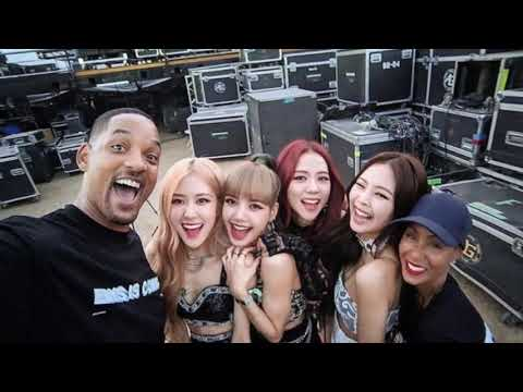 BLACKPINK and SMITH FAMILY MOMENT in Coachella 2019
