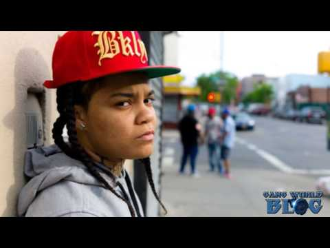 Gangster Profile: Young M.A. UBN Valentines Blood Rapper Brooklyn
