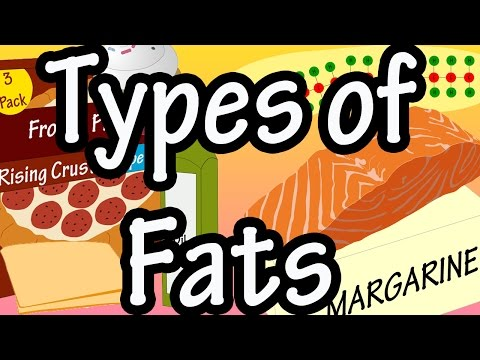 "Fats - Types Of Fats - What Is Saturated Fat - What Is Unsaturated Fat - Omega 3's And Omega 6""s"