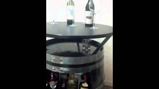 Bt6 Bistro Table Oak Barrel