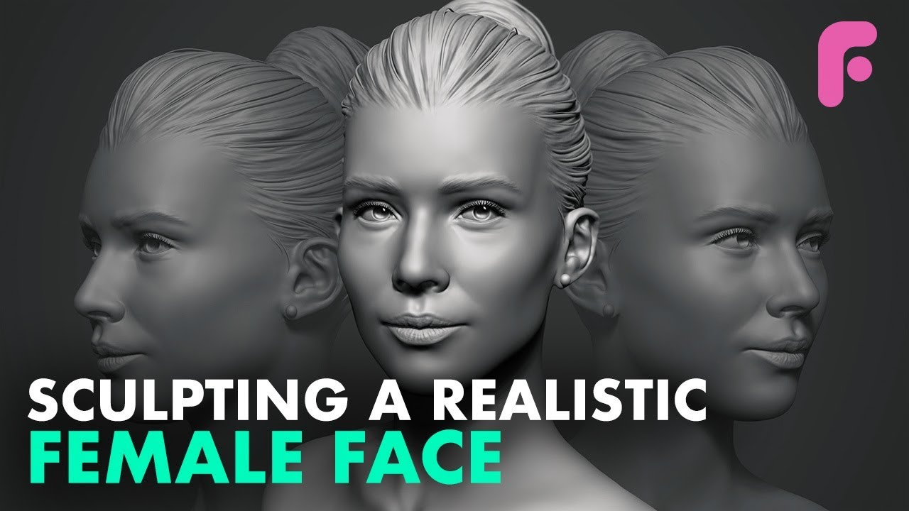Sculpting a Realistic Female Face in ZBrush | FlippedNormals