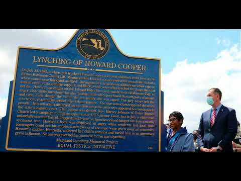 MD Gov. Larry Hogan Want You To Have A Plaque and Not Reparation