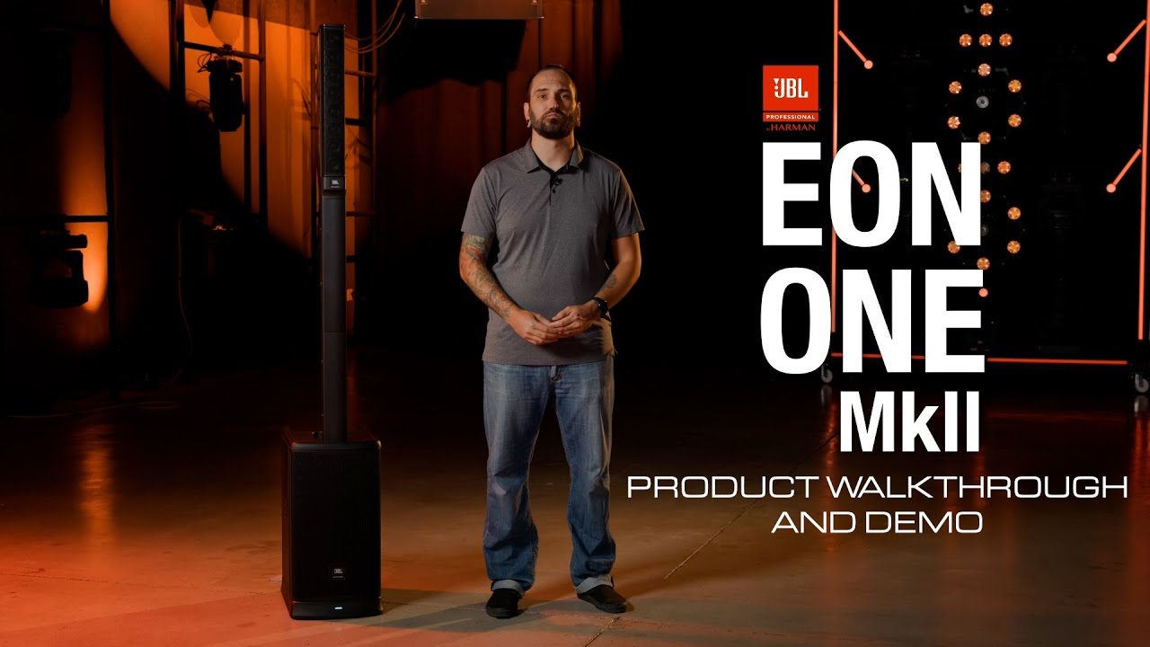 Product Walkthrough & Demo: JBL Professional EON ONE MK2 All-In-One, Battery-Powered Column PA