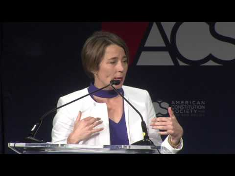 Address by Massachusetts Attorney General Maura Healey, Introduced by Jeff Clements