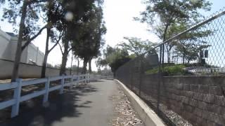 Yorba Linda Recreational Trail (ylrt) Riding My Mtb Heading Toward The Bridge And Tunnel