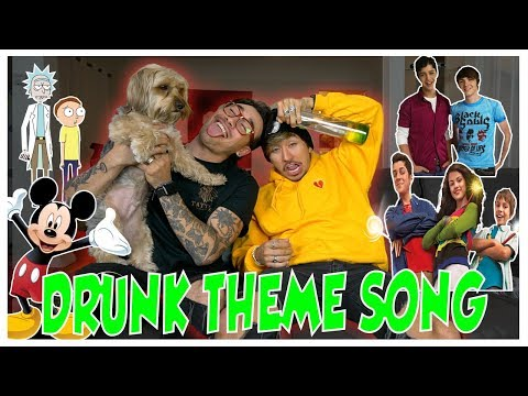 DRUNK THEME SONG CHALLENGE with my Brother!!