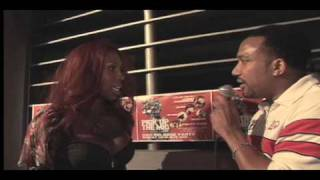Interviewing Hollywood featFoxxjazell  - quotPick Up The Micquot Red Carpet DVD release party