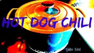 Hot Dog Chili  Sunday Simple Supper