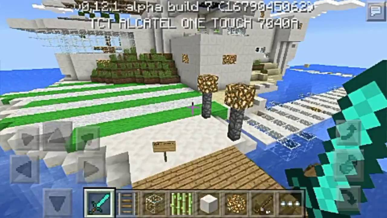 Casa moderna en una isla review descarga minecraft pe for Casa moderna minecraft 0 12 1