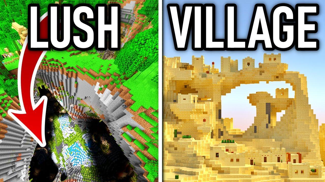 Minecraft's Top 10 Best Seeds! (Caves & Cliffs)