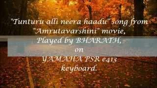 Tunturu alli neera hadu piano / instrumental / keyboard - Amrutavarshini