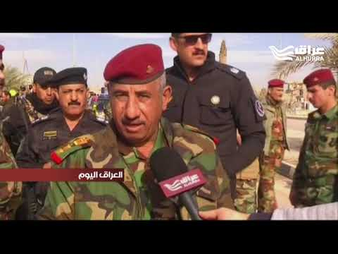 احتفالات جماهيرية في شوارع الرمادي احتفالاً بإعلان النصر التام على داعش