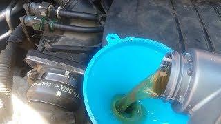 Revisión motor 1.6 HDI. Peugeot-citröen. Cambio de aceite y filtros