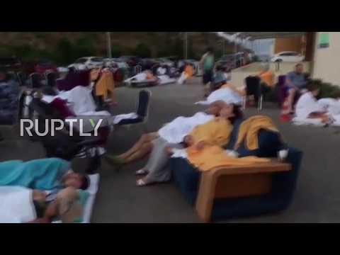 Turkey: Holidaymakers flee hotels in Akyarlar as earthquake strikes Aegean coast