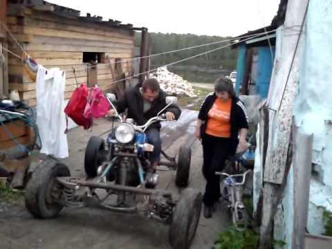 Самодельный квадроцикл на базе иж