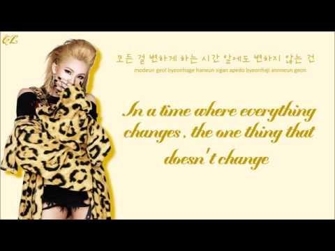 2NE1 - Comeback Home (Color Coded Lyrics: Rom, Eng, Hangul)