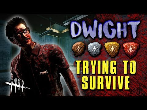 DWIGHT - Trying to Survive [#165] Dead by Daylight with HybridPanda