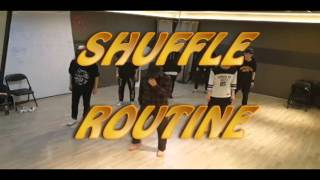 Shuffle Dance (routine practice)