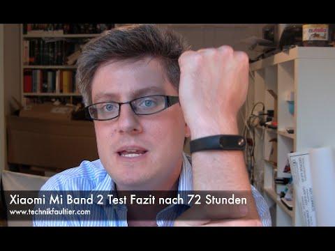 Xiaomi Mi Band 2 Test Fazit nach 72 Stunden