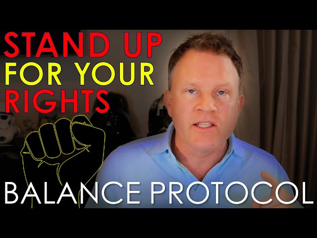Stand Up For Your Rights! Civil Disobedience NOW!