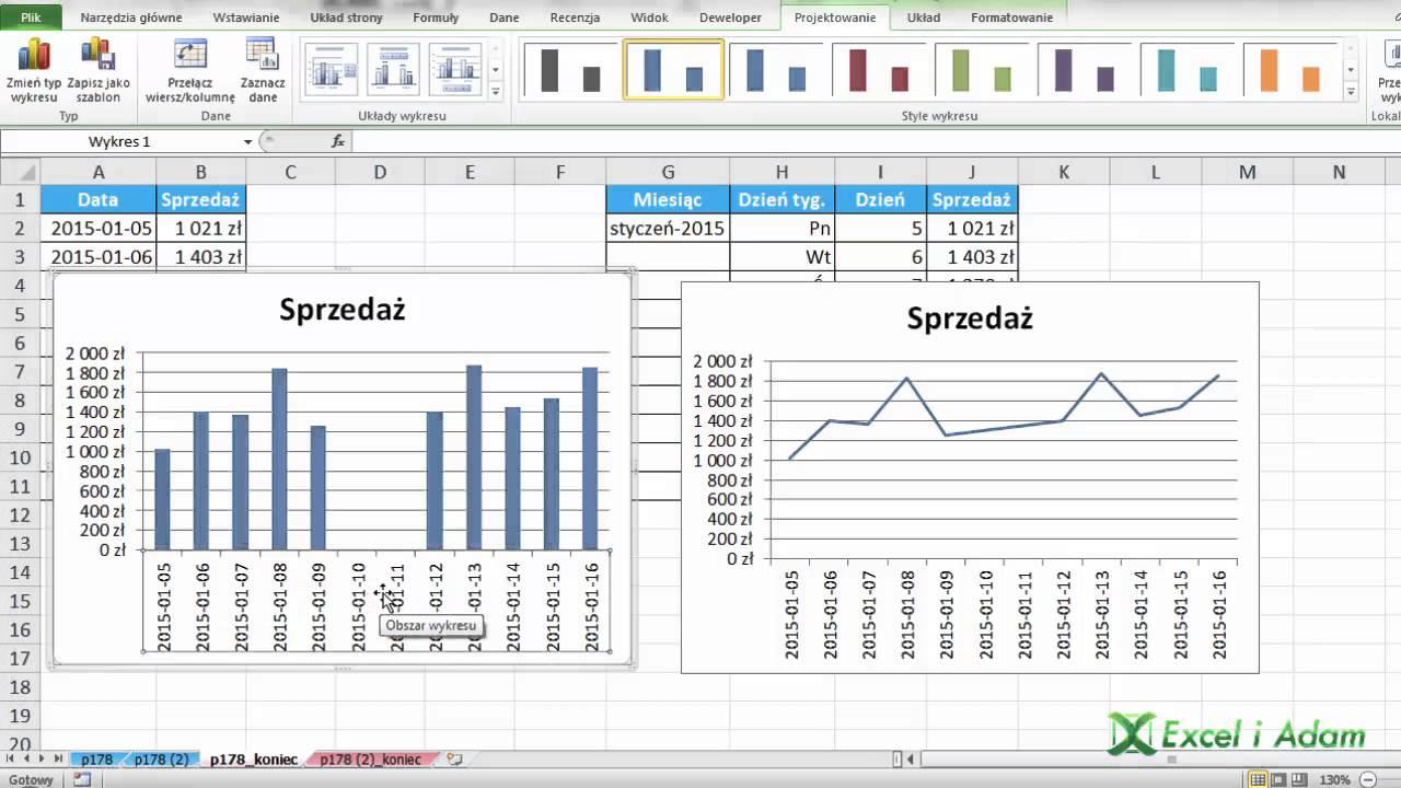 Excel jak pomin daty bez sprzeday na wykresie porada 178 excel jak pomin daty bez sprzeday na wykresie porada 178 ccuart Choice Image
