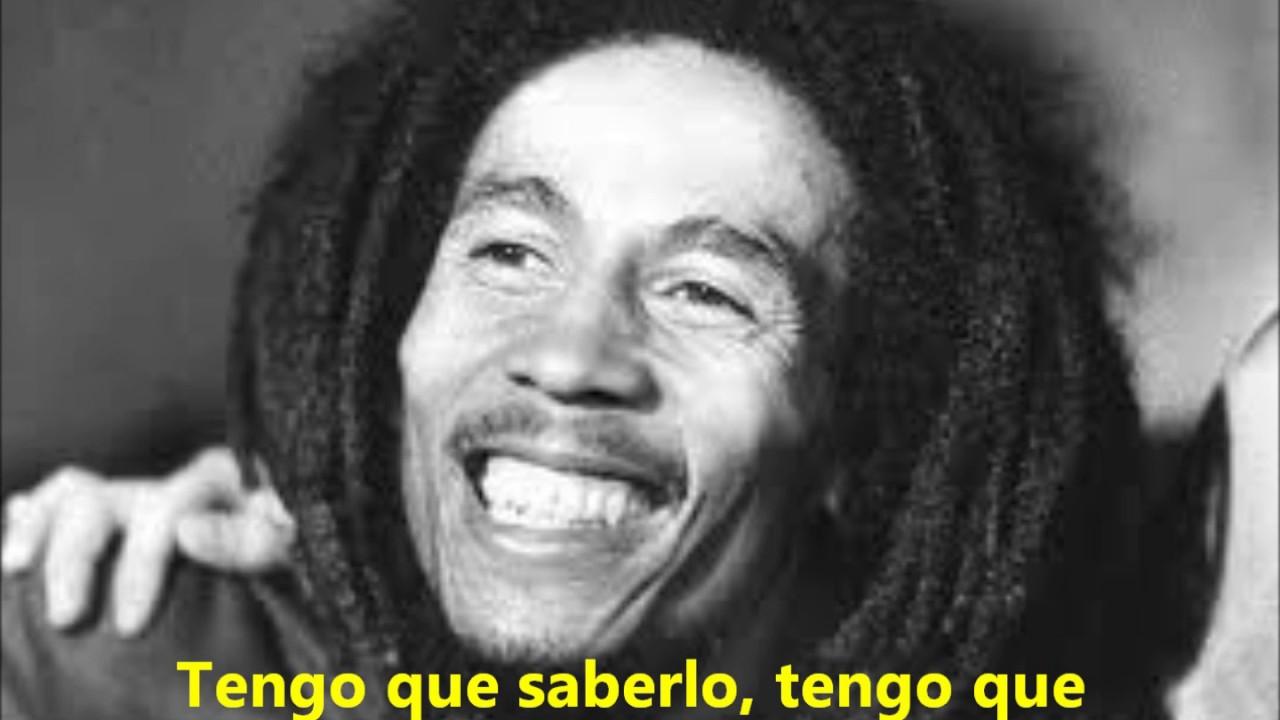 Letra de one love bob marley en ingles y español