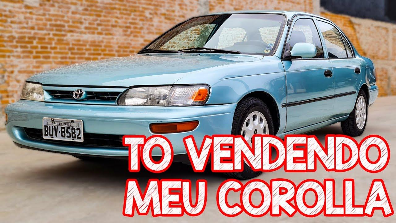 Tô Vendendo Meu Corolla 1994 e vou doar 100% do valor da venda! Carro Chefe