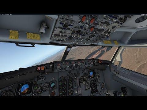 IXEG B737-300 Full Flight from Long Beach to Las Vegas | X-Pane 11