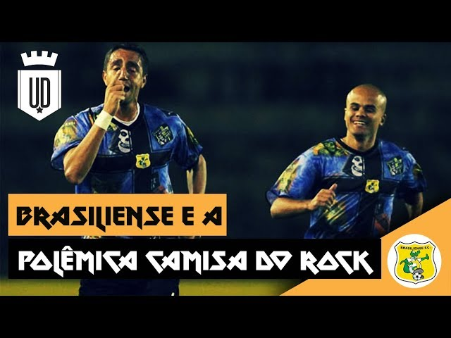 Uniforme do Brasiliense mostrou que futebol pode ser Rock and Roll - Última  Divisão 762ceea234b1b