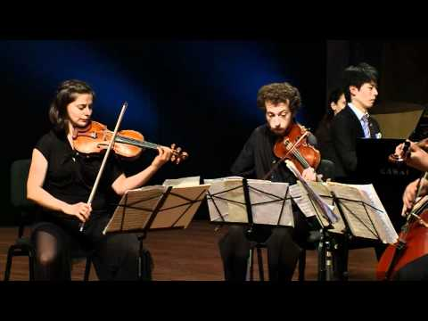 Schumann - Piano Quintet in E-flat major, op. 44 - Kotaro Fukuma and the Ariel String Quartet,