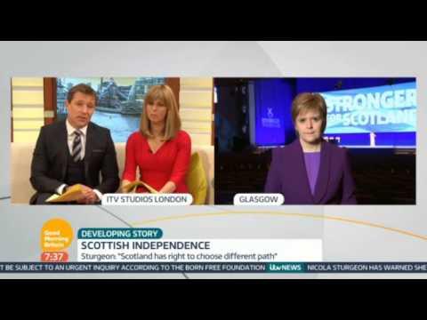 Nicola Sturgeon on Good Morning Britain