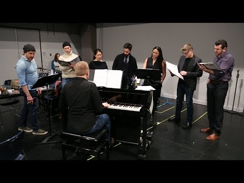 Watch Raul Esparza, Ramin Karimloo & More Rehearse for CHESS at the Kennedy Center