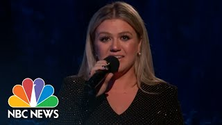 Kelly Clarkson Fights Back Tears As She Mourns Santa Fe Shooting Victims | NBC News