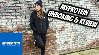 MYPROTEIN Tracksuit 30% off CODE | Unboxing & Review