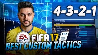 FIFA 17 AFTER PATCH BEST FORMATION 4-3-2-1 TUTORIAL - BEST TACTICS & INSTRUCTIONS / 4-3-2-1 GUIDE