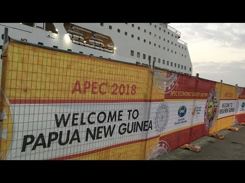 APEC leaders attend welcome dinner in Port Moresby