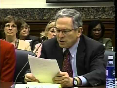 Congressional School Nutrition Hearing 2008: Kenneth Hecht